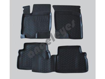 Gumené vaničkové rohože pre Hyundai Getz