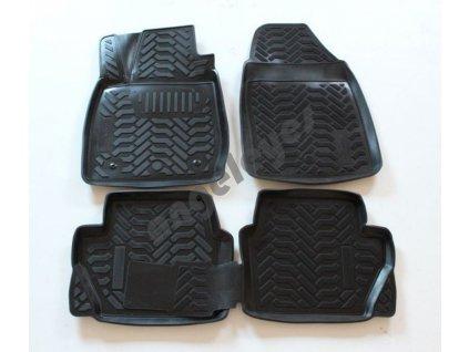 Gumené vaničkové rohože pre Ford Fiesta