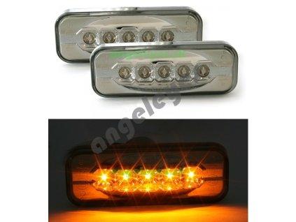 Opel Omega bočné LED smerovky, rv. 94-03