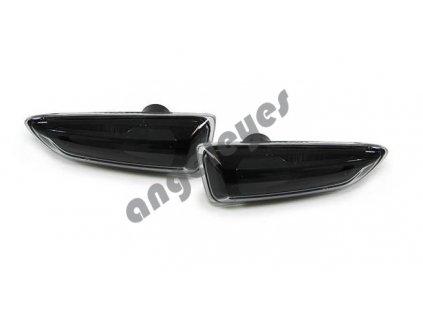 Bočné čierne smerovky zatmavené Opel Astra J, Astra K a Zafira C