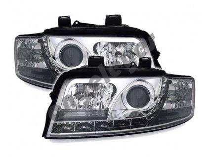 Audi A4 00-04 Devil Eyes chrómové