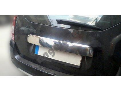 Dacia Duster chrómová lišta nad značku