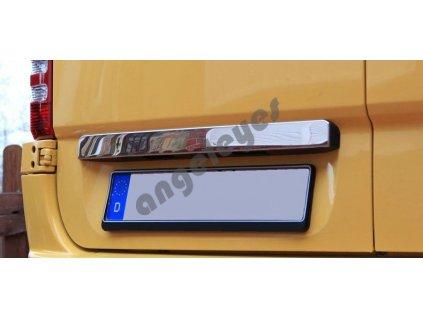 Mercedes Sprinter/VW Crafter zadná kufrová nerezová lišta