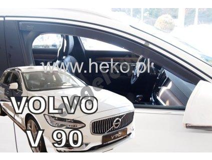 Deflektory na okná pre Volvo V90 (4ks)
