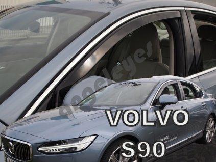 Deflektory na okná pre Volvo S90 (4ks)