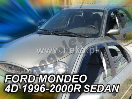Deflektory na okná pre Ford Mondeo  MK2 4ks