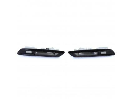 BMW 5 F10/F11 LED bočné smerovky čierne zatmavené