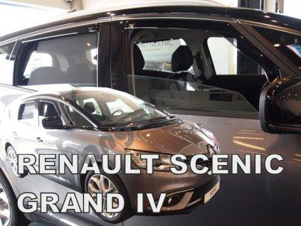 Deflektory na okná pre Renault Scénic 4 Grand, 4ks