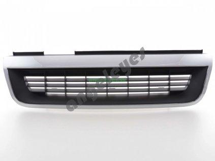Opel Vectra A čierno chrómová maska