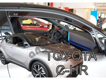 Deflektory na okná pre Toyota C-HR, 4ks