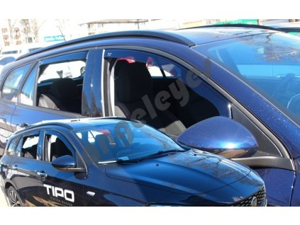 Deflektory na okná pre Fiat Tipo 2ks