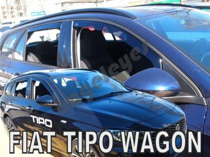 Deflektory na okná pre Fiat Tipo 4ks