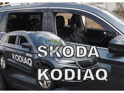 Deflektory na okná Škoda Kodiaq (4ks)