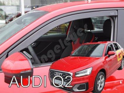 Deflektory na okná pre Audi Q2, 2ks