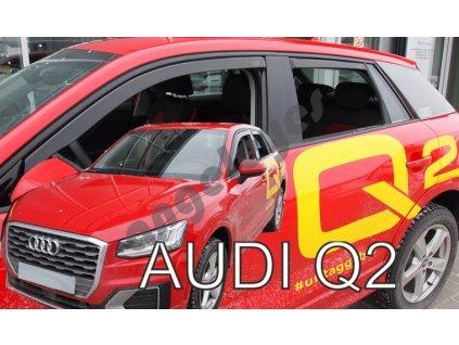 Deflektory na okná pre Audi Q2, 4ks