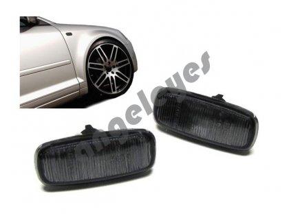 Audi bočné smerovky čierne zatmavené