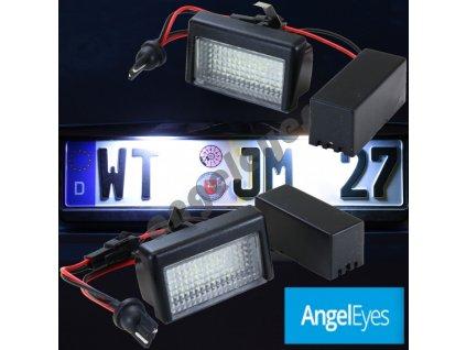 LED osvetlenie ŠPZ pre Mercedes ML W164, GL X164