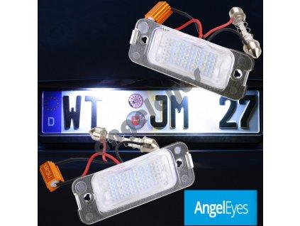 LED osvetlenie ŠPZ pre Mercedes ML, GL, R-trieda