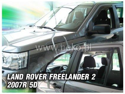 Deflektory na okná pre Land Rover Freelander 2, 4ks