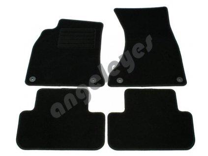 Audi A4 B8 8K čierne koberce 4-dielne
