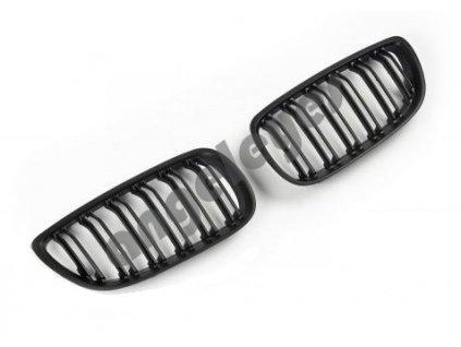 Predná čierna matná maska pre BMW E92 Coupé a E93 Cabrio 06-10