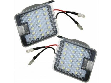 LED osvetlenie pod spätné zrkadlá pre Ford C-MAX, Focus 3,...