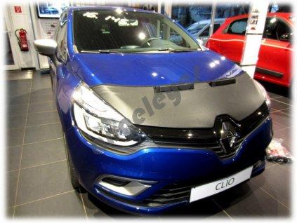 Renault Clio 4 kožený kryt kapoty, od rv. 2012-