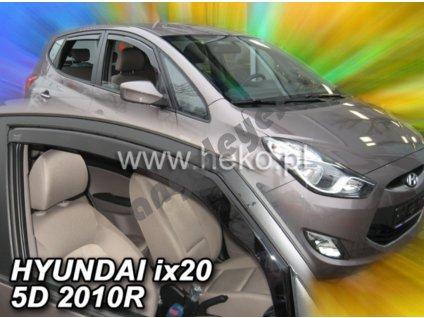 Deflektory na okná pre Hyundai ix20 5D rv. 2010-, 2ks