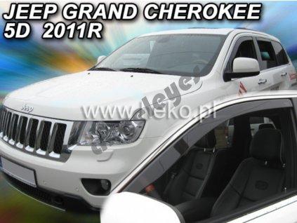 Deflektory na okná pre Jeep Grand Cherokee WK2   2011-, 2ks