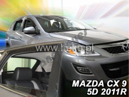 Deflektory na okná pre Mazda CX-9, 4ks