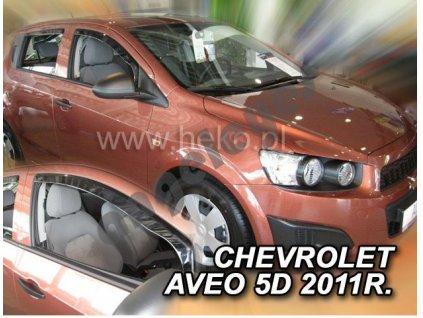 Deflektory na okná pre Chevrolet Aveo  rv. 2011-, 2ks