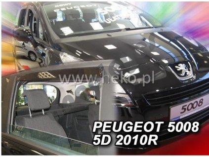 Deflektory na okná pre Peugeot 5008, 4ks