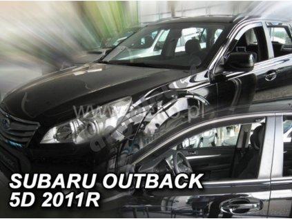 Deflektory na okná Subaru Outback, 2ks