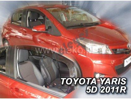 Deflektory na okná Toyota Yaris, 2ks