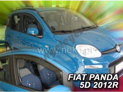 Deflektory na okná Fiat Panda, 2ks