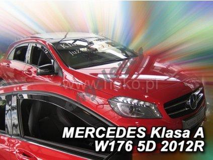 Deflektory na okná pre Mercedes A, 2ks