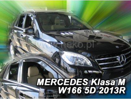 Deflektory na okná pre Mercedes M W166, 4ks