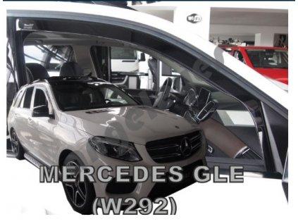 Deflektory na okná pre Mercedes GLE W292