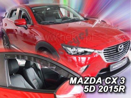 Deflektory na okná pre Mazda CX-3, 2ks