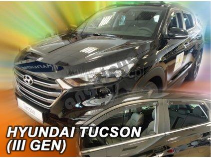 Deflektory na okná pre Hyundai Tucson 3, 4ks