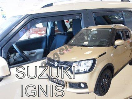 Deflektory na okná pre Suzuki Ignis, 4ks