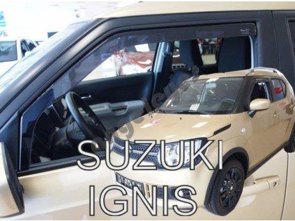 Deflektory na okná pre Suzuki Ignis, 2ks