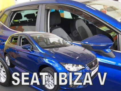 Deflektory na okná pre Seat Ibiza 5, 4ks