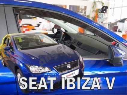 Deflektory na okná pre Seat Ibiza 5, 2ks