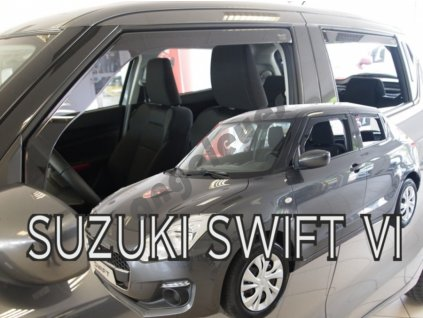 Deflektory na okná pre Suzuki Swift 6