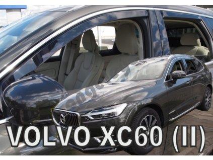 Deflektory na okná pre Volvo XC60 2, 4ks