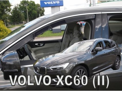Deflektory na okná pre Volvo XC60 2, 2ks