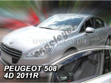 Deflektory na okná pre Peugeot 508 , 2ks