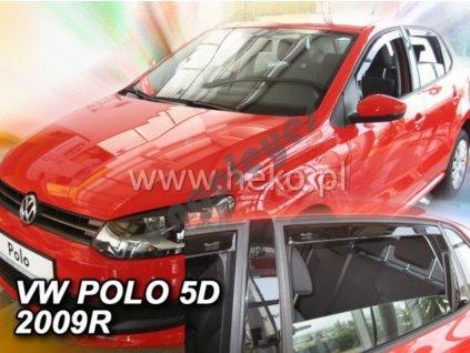Deflektory na okná pre Volkswagen Polo, rv. 2009-2017, 4ks