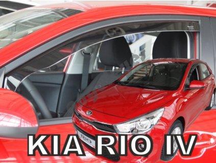 Deflektory na okná pre Kia Rio 4 , 2ks